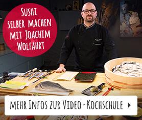 Videokochkurs: Sushi selber machen