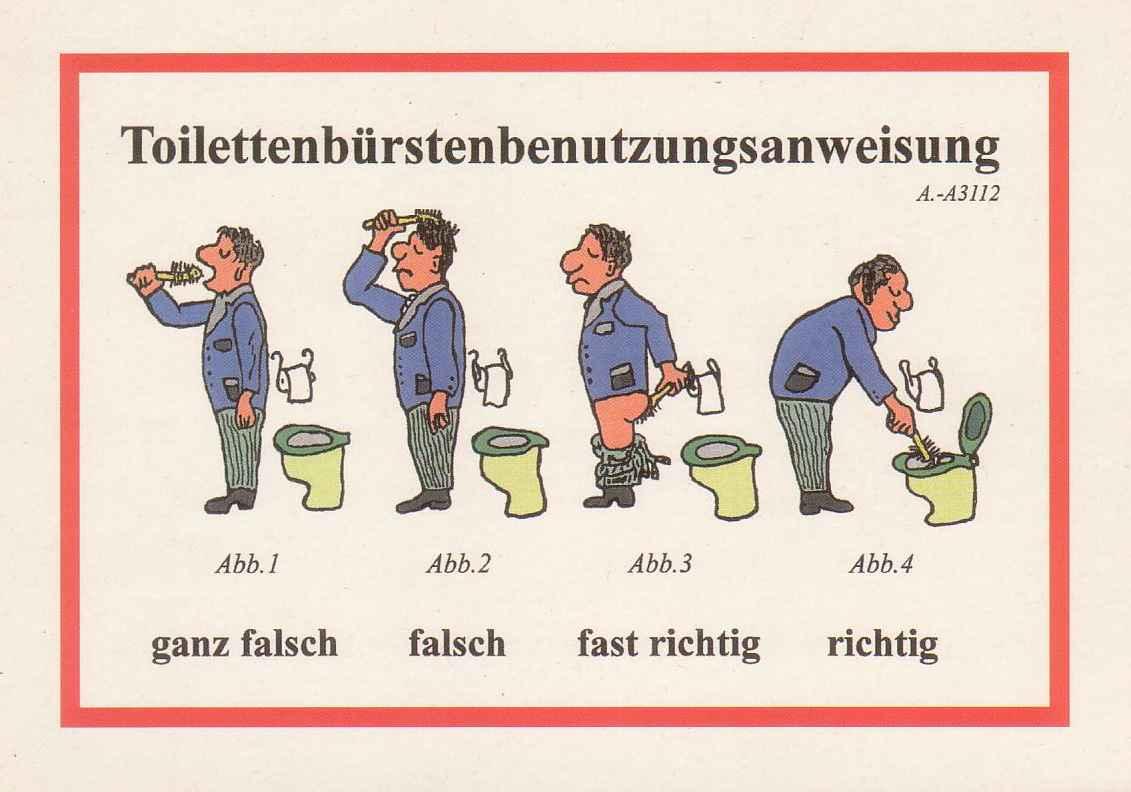Was Tun Mit Kolleginnen Die Keine Wc Bürste Kennen