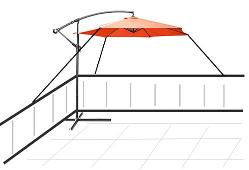 Hat Jemand Einen 4 Stock Tauglichen Sonnenschirm Haus Garten