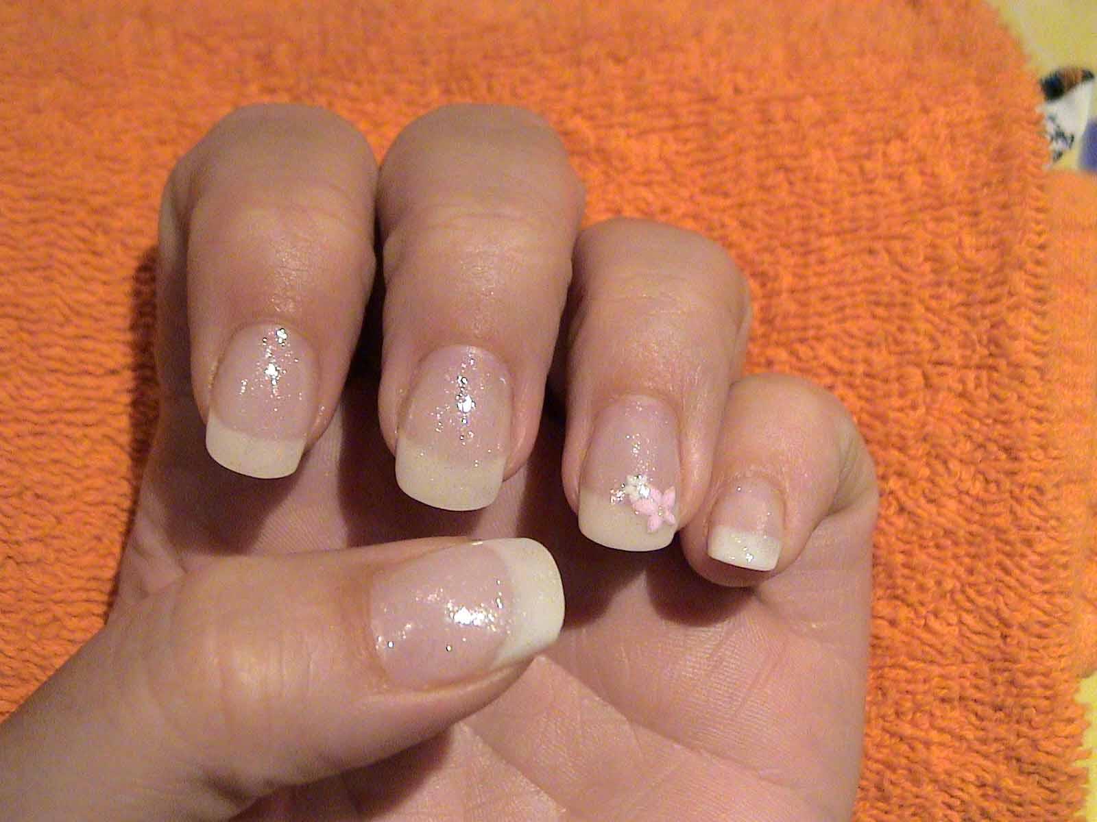 Hatte Gerne French Nails Meine Fingernagel Sind So Schrecklich