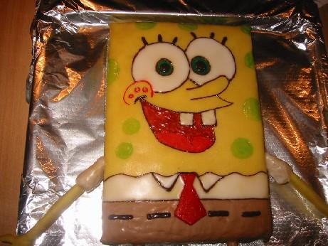 Und Noch Ein Spongebob Schwammkopf Torten Kuchen Forum Chefkoch De