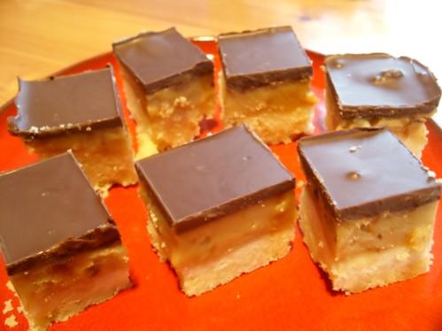 Karamell Schoko Schnitten Torten Kuchen Forum Chefkoch De