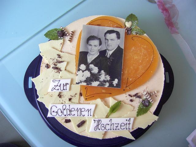 Noch Ne Goldene Hochzeit Motivtorten Forum Chefkoch De