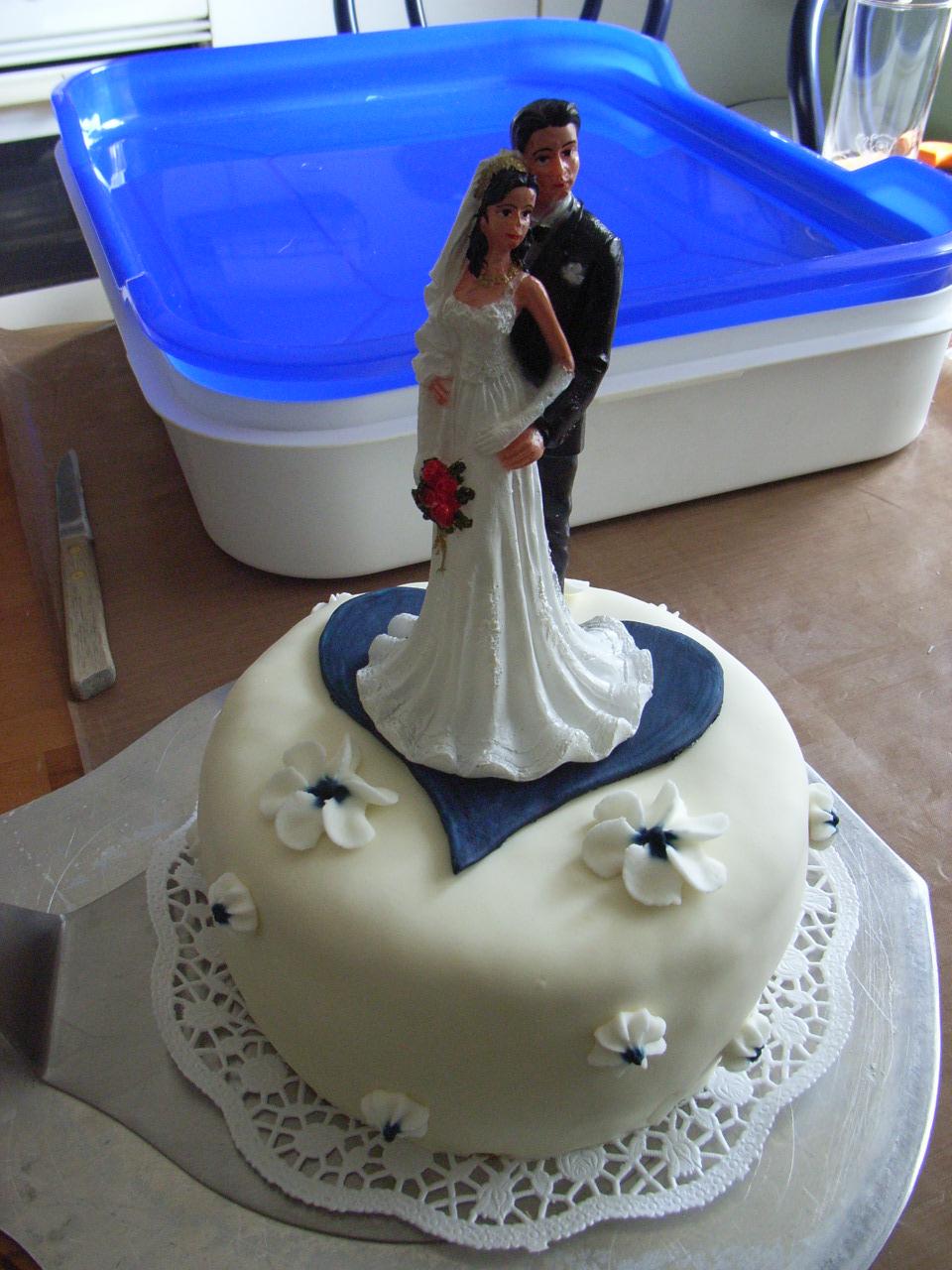 Hochzeitstorte Fertig Ein Paar Graue Haare Mehr