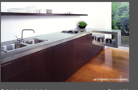 Arbeitsplatte Granit Beton Holz Oder Marmor Kuchenausstattung