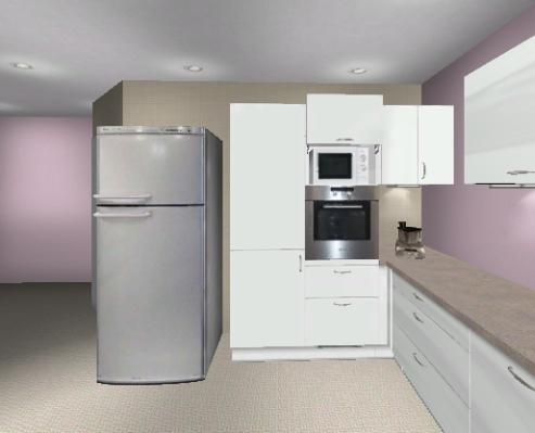 Side By Side Kühlschrank Abstand Wand : Preis für brigitte küche und side by side küchenausstattung