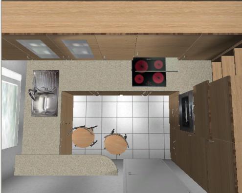 wie habt ihr eure ecke gelöst? | Küchenausstattung Forum | Chefkoch.de