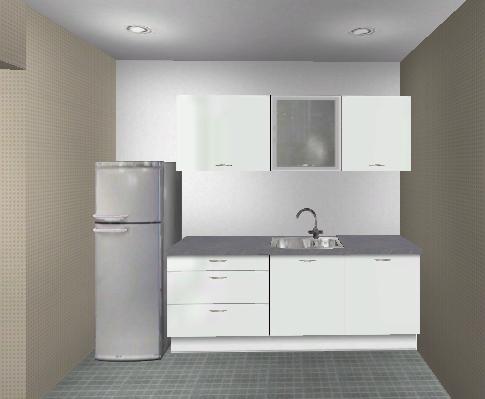 Freistehender Kühlschrank In Küchenzeile Integrieren K Hlschrank