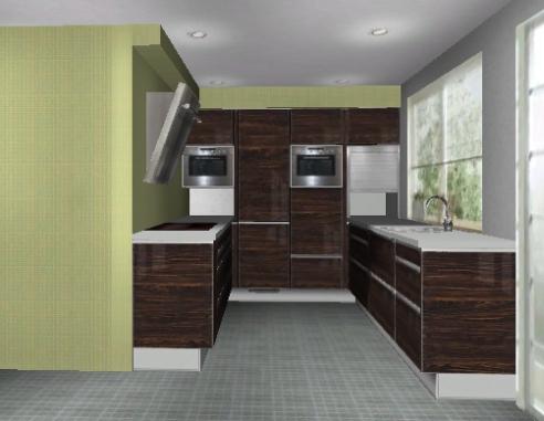 Küchenplanung - offene Küche - kleiner Raum | Küchenausstattung ...