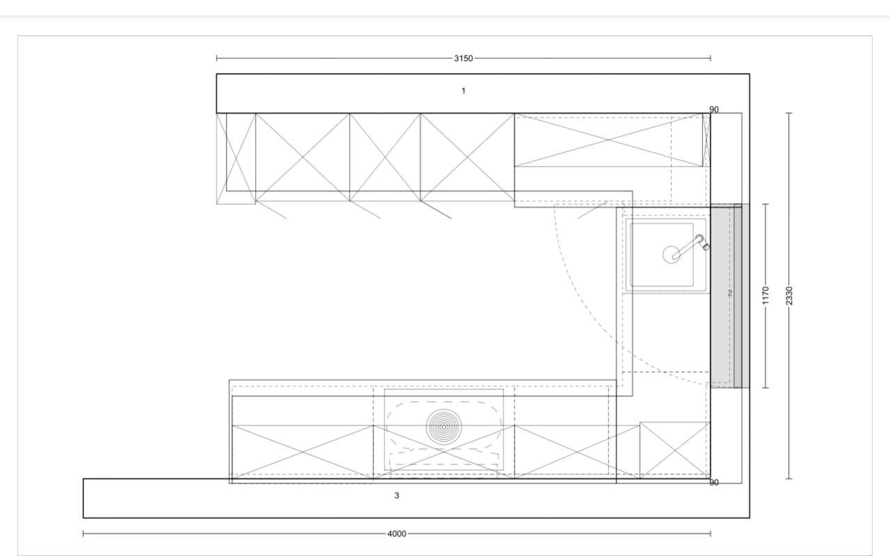 Küchenplanung Leicht + Bora + Siemens: Optimierung möglich ...