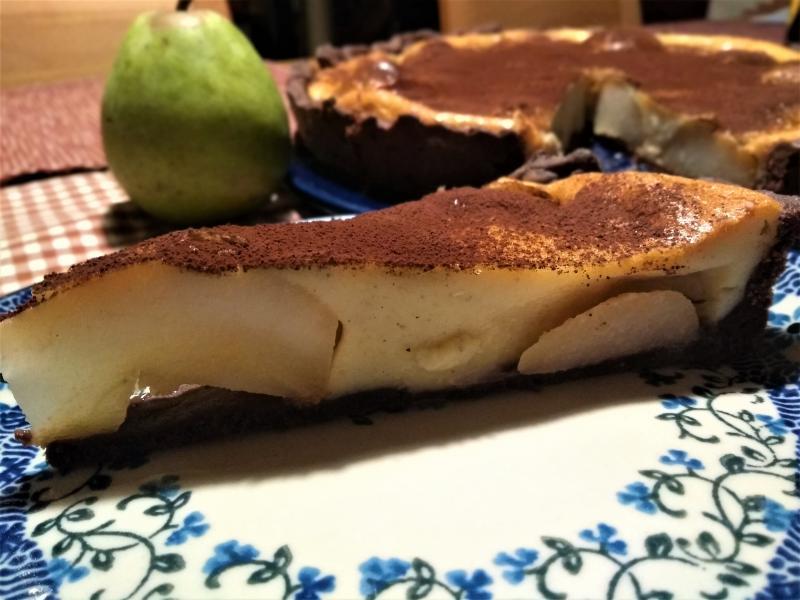 Birnen Schokoladen Tarte Kardamom parfümiert 789629097