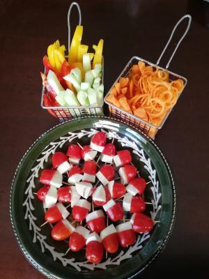 Gemüse Sticks
