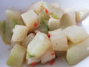 Chayoten Salat