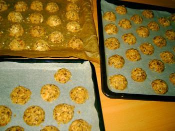Haferflocken-Walnuss-Cookies