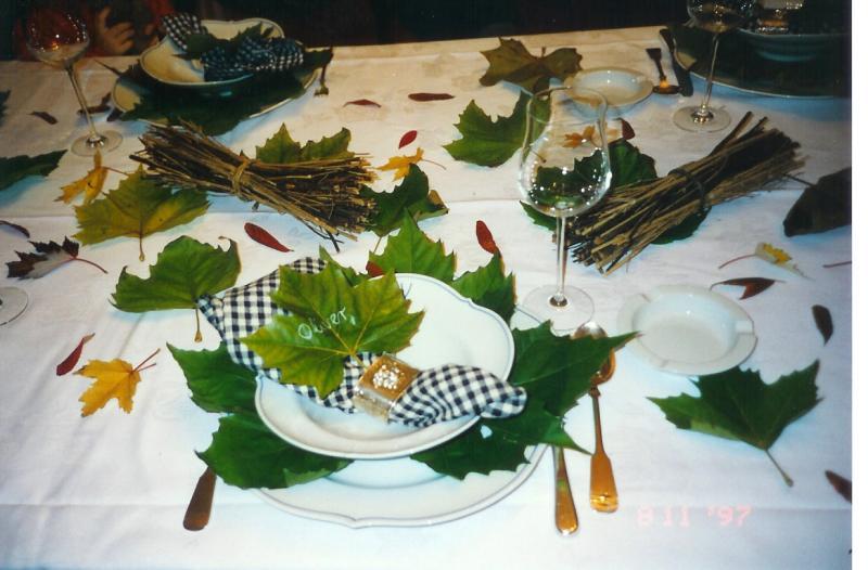 Tischdekorationen Fotoalbum Kochen Rezepte Bei Chefkoch De