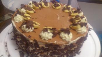Banana-Split-Torte