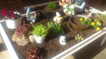 mein Gartentisch 2