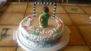 Geburtstagstorte für den Chef