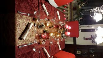 Tischdeko Weihnachten 2 Feiertag