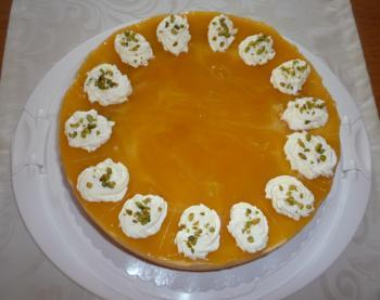 Pistazien - Pfirsichcreme - Torte (Rezept von Rocky73)