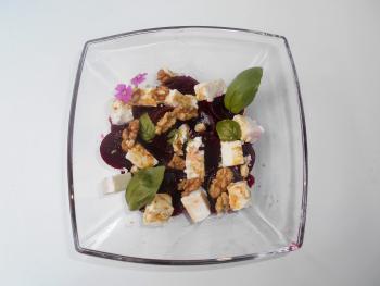 Schafskäse - Rote Bete - Salat