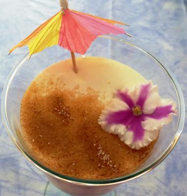 Quark-Apfelmus-Dessert