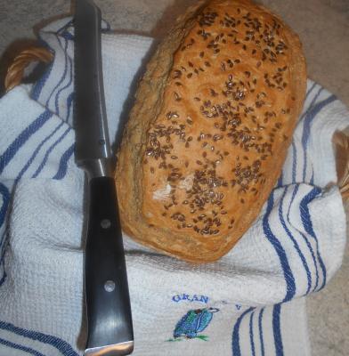 Dinkel - Buchweizen - Brot