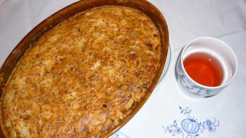 Schneller Zwiebelkuchen
