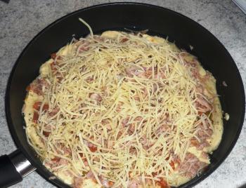 Pfannenpizza schnell und lecker