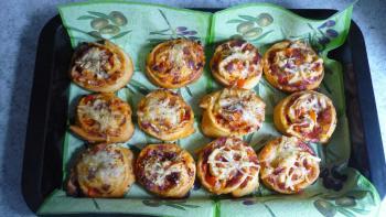 Turbo-Pizzaschnecken