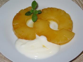 Karamellisierte Vanille-Ananas von blulichblau