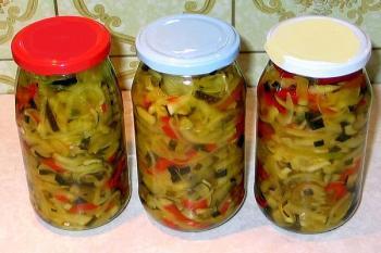 Eingelegte Zucchini von JosephineB