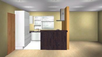 Sanamone 15062007 24m X 3m Offene Küche Mit Wohn