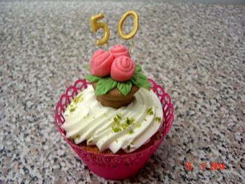 Cupcake mit 50er
