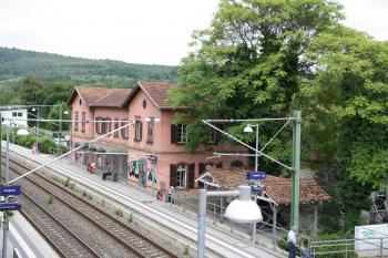 alter Bahnhof Bammental