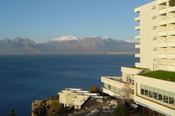 Blick vom Balkon unsere Hotels
