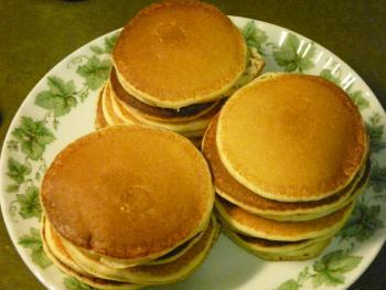 Pancakes mit Backpulver II
