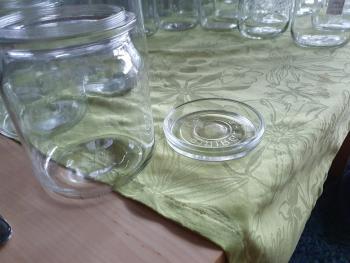 Deckel eines Einmachglases