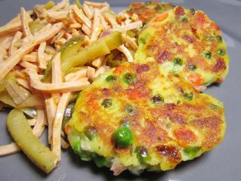Kartoffelknödeltaler, Wurstsalat