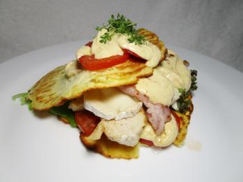 Pastinaken-Pizza-Sandwich