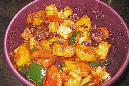 Bataten Tofu Pfanne 3