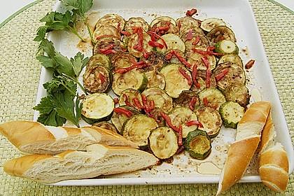 Marinierte Zucchini 5