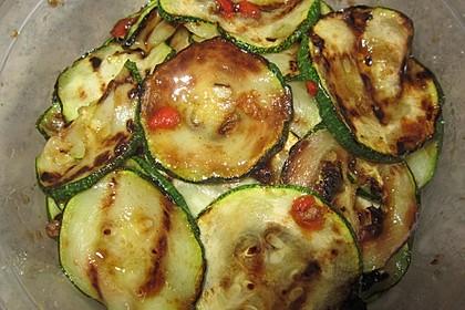 Marinierte Zucchini 18