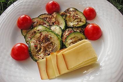 Marinierte Zucchini 3