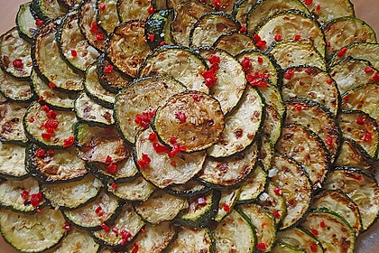 Marinierte Zucchini 1