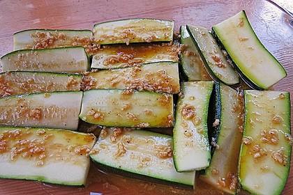 Marinierte Zucchini 8