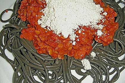 Spagettisauce mit roten Linsen 17
