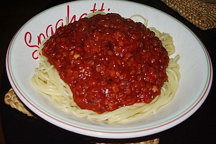 Spagettisauce mit roten Linsen 23