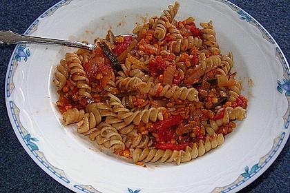 Spagettisauce mit roten Linsen 21
