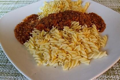 Spagettisauce mit roten Linsen 13